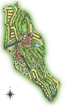 Master Plan El Valle Golf Resort