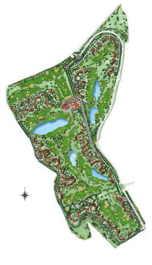 Master Plan Riquelme Golf Resort
