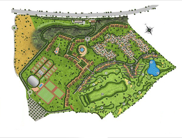 Master Plan La Loma Golf Resort